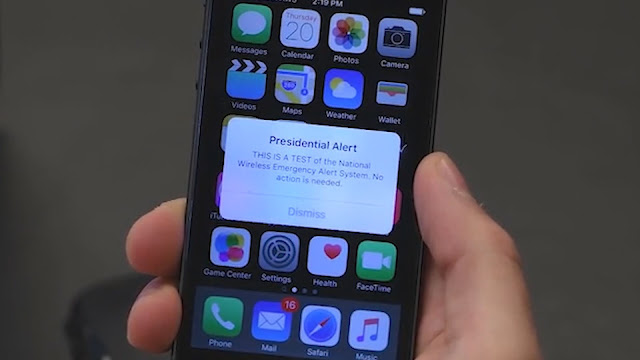 Presidential Alert System test coming today in the US