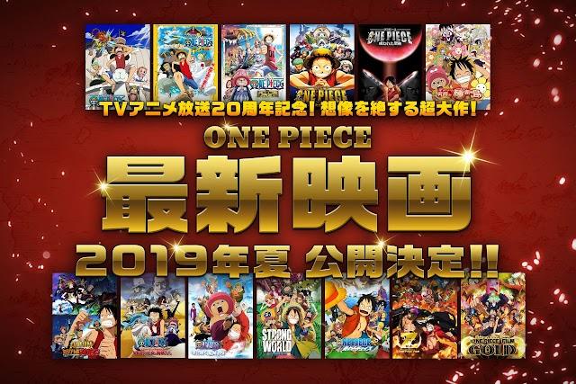 One Piece vai ganhar um novo filme em 2019