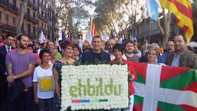 Otegi, Eh, Bildu, Barcelona