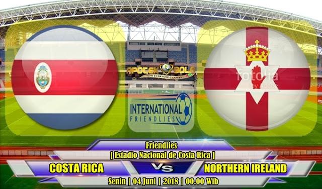Prediksi Kosta Rika vs Irlandia Utara 04 Juli 2018