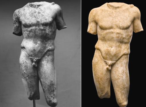 Δημοπρατείται στο Λονδίνο ρωμαϊκό άγαλμα αθλητή των Σάϊμς-Μιχαηλίδη