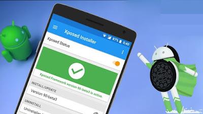 Cara Instal Xposed Framework di Android 7.0 Nougat dan 8.0 Oreo