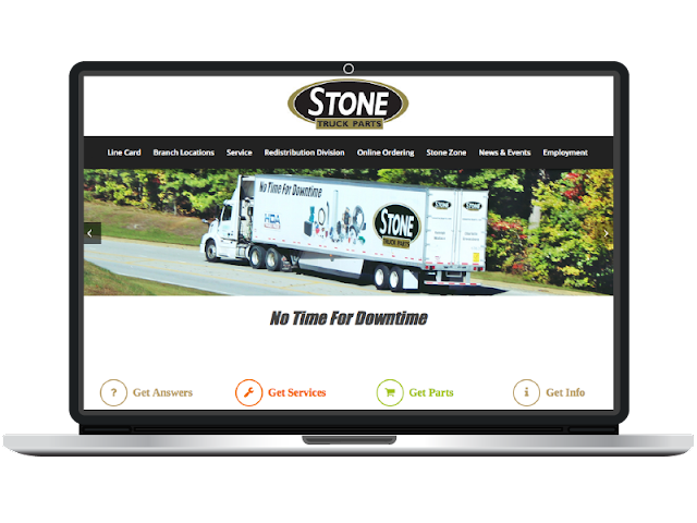 CC Communications recently launched a new website for Stone Truck Parts.