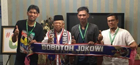 Bobotoh Viking Dukung Jokowi-Maruf Ternyata Hoax, Pemikir Islam: Yang Hoax Harus Ditindak!