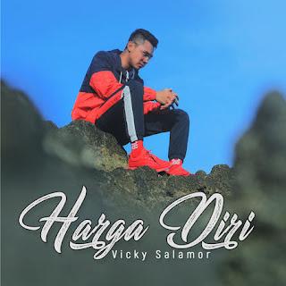 Lagu ini masih berupa single yang didistribusikan oleh label ESE Digital Lirik Lagu Vicky Salamor - Harga Diri