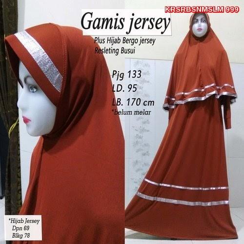 KRS999  Sale Mode Gamis Anak Dewasa Maxi Jesrey Murah BMGSHOP