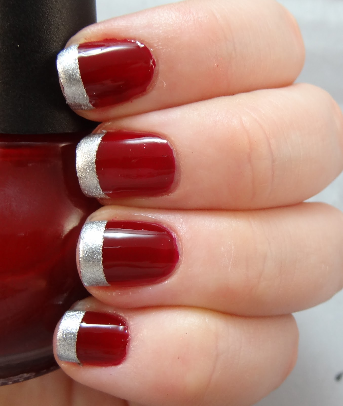 Christmas Nails Not Red: Adventures In LalaLand: Undercover Christmas Nails
