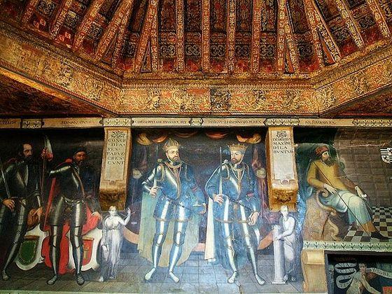 imagen_burgos_arco_santa_maria_puerta_carlos_v_renacimiento_arte_escultura_sala_poridad_artesonado_pinturas
