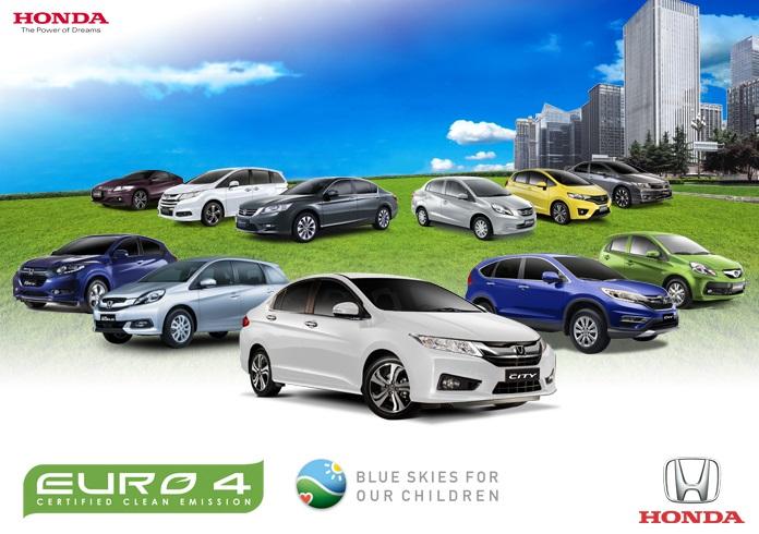 Honda Automobiles EURO 4 Certified