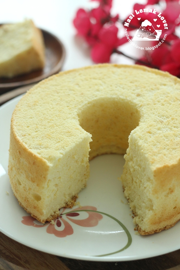 Small Chiffon Cake Recipe