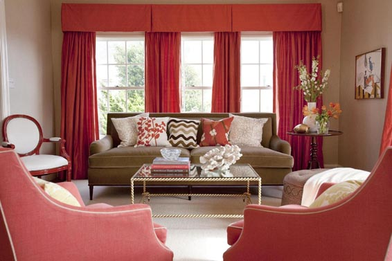 Not your average colour scheme ~ Home Interior Design Ideas