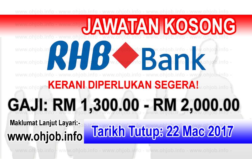 Jawatan Kerja Kosong RHB Bank logo www.ohjob.info mac 2017