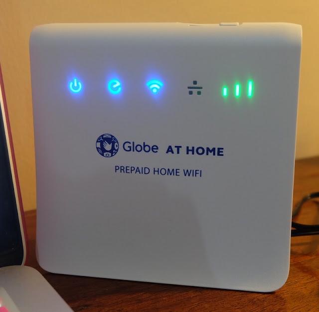 my globeathome prepaid home wifi experience rochelle rivera. Black Bedroom Furniture Sets. Home Design Ideas