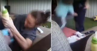 Νταντά έδερνε και βασάνιζε παιδάκι κλείνοντάς του την μύτη για να μην μπορεί να αναπνεύσει