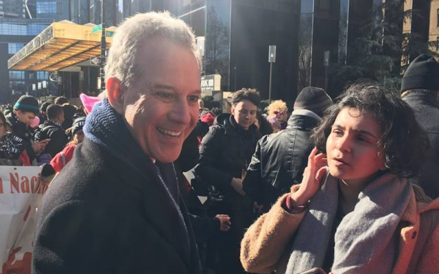 NY AG spoke at 2018 Women's March