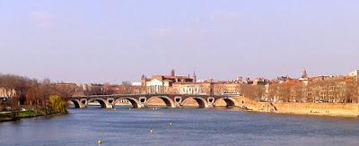 Vista de Toulouse y del Pont Neuf desde el Pont Saint-Michel. ©Selene Garrido Guil 2016