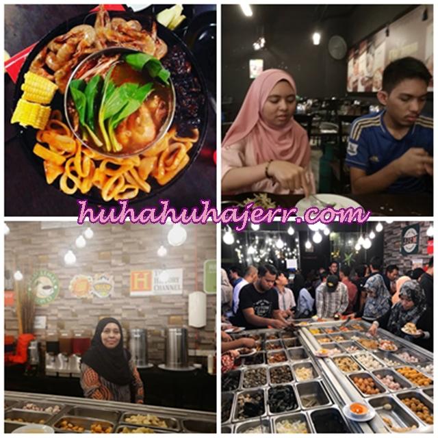 Makan Sepuasnya Sampai Tercekik Perut D'Kayangan Steamboat And Grill Shah Alam