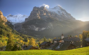 Wallpaper: Landscape and travel to Grindelwald