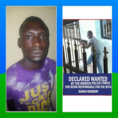 Another Wanted Offa Robbery Gang Member Nabbed (Photos)