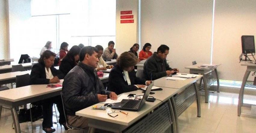 MINEDU fortalece capacidades en el diseño y elaboración de instrumentos de evaluación estandarizada - www.minedu.gob.pe