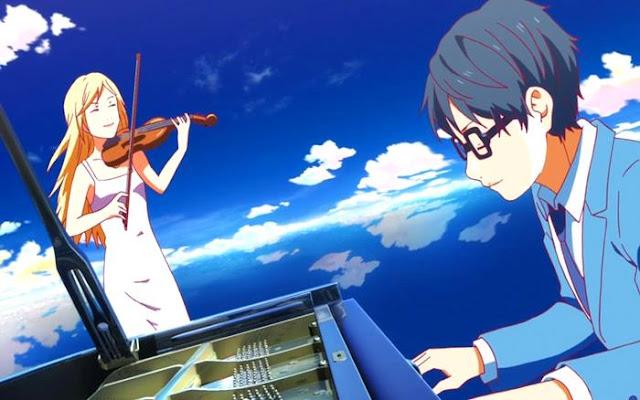 Anime romance comedy yang menyentuh