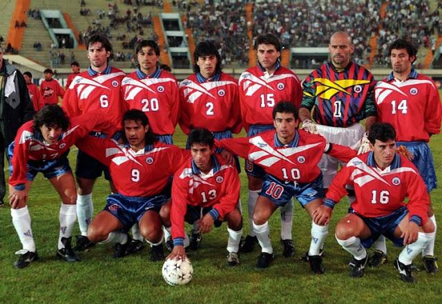 Formación de Chile ante Ecuador, Copa América 1997, 14 de junio