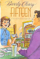Fifteen cover with illustration that looks like it could be one of the original ones from inside the book but is not, title type that is trying to look antiquey but fails to look like it's from the 1950s