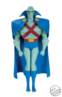 SDCC 2018 DC Collectibles Justice League Animated Series Action Figures Martian Manhunter