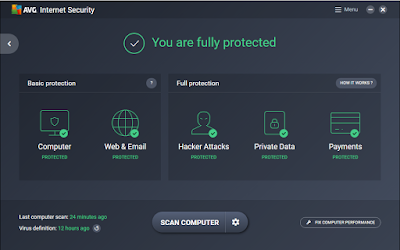AVG Internet Security Terbaru (Software Antivirus Malware & Internet Gratis)