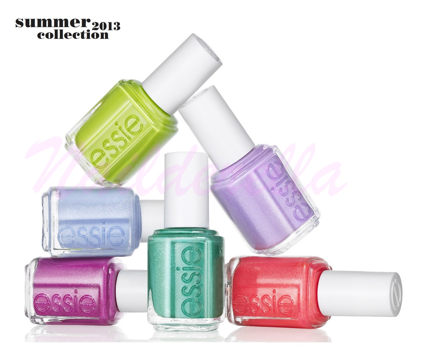 New Essie collections for Summer 2013 - Nailderella