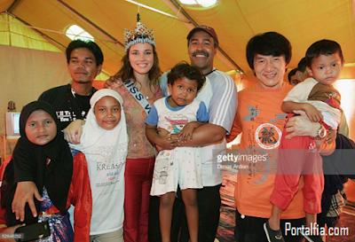 Maria Julia Mantilla Garcia datang  ke Aceh