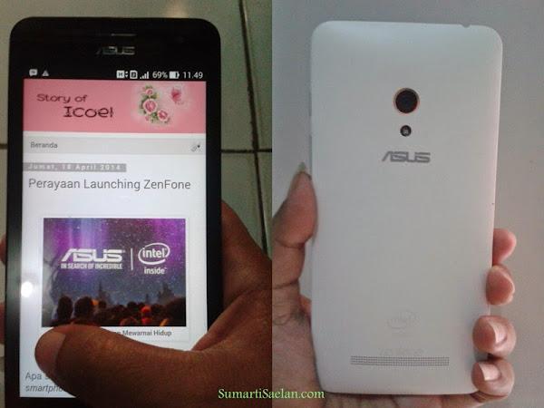 ZenFone 5, Si Tipis Nan Stylish
