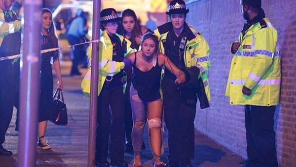 Manchester vivió escenas dramáticas esta noche