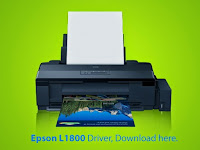 Epson L1800 Printer Driver Download