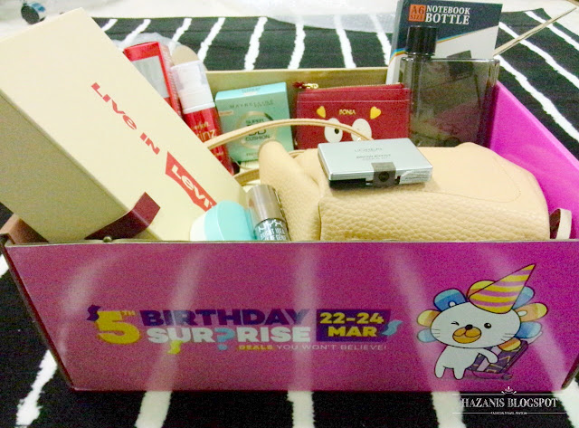 box of joy exclusive from Lazada 2