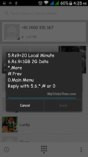 How to Get Reliance 1GB 2G data at Just Rs.9 Only - Demo 4 - MyTricksTime.com