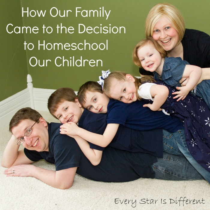 How Our Family Came to the Decision to Homeschool