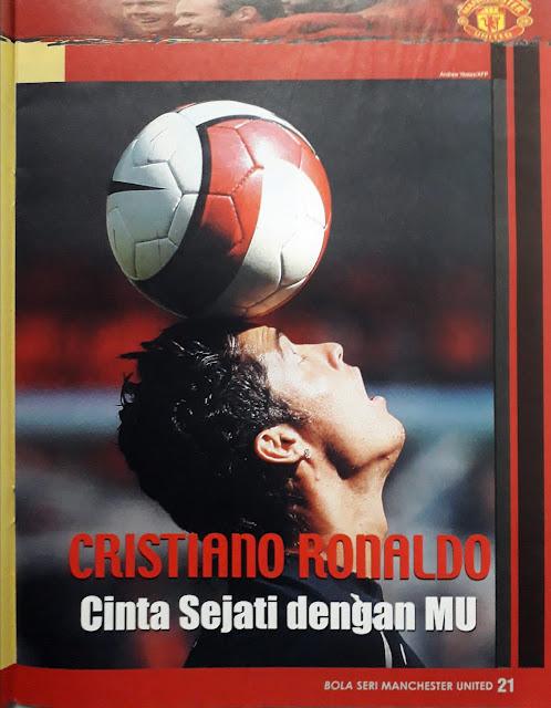 CRISTIANO RONALDO CINTA SEJATI DENGAN MANCHESTER UNITED