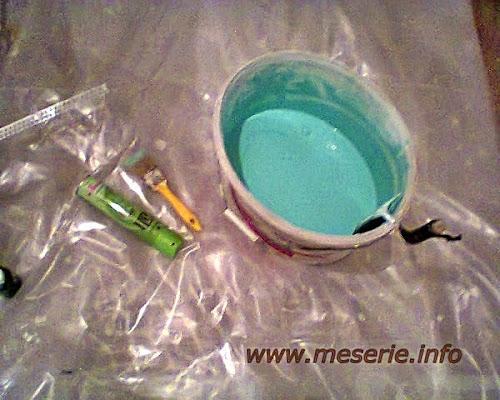 lavabila colorata verde