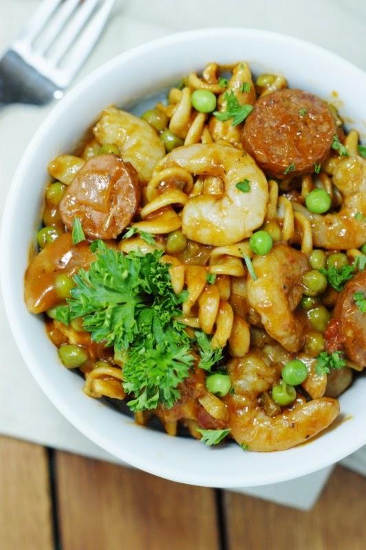 Bowl of Pasta Jambalaya