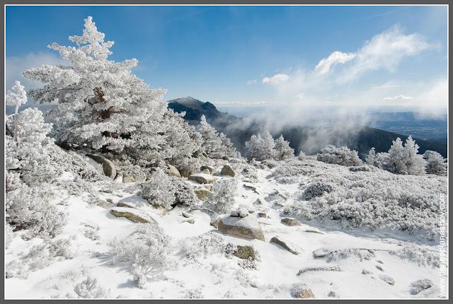Pico Somontano Sierra de Guadarrama