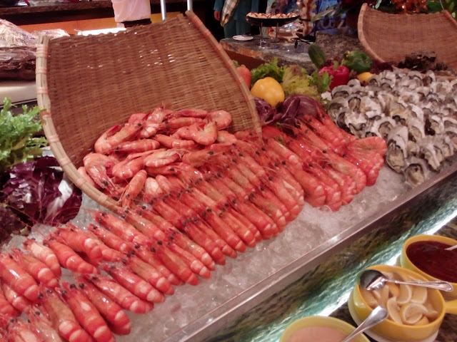 Makanan laut yang boleh dibakar sevcara langsung