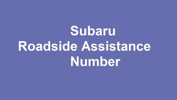 Subaru Roadside Assistance Number