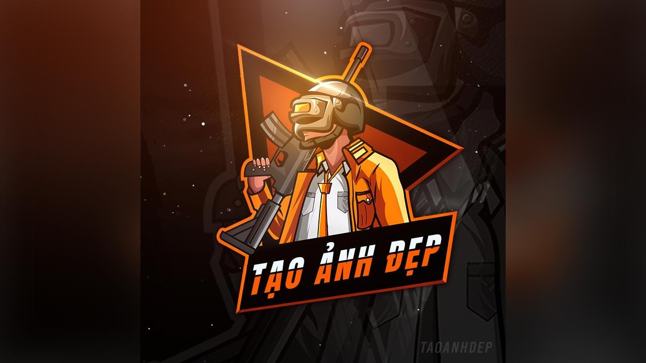 Tạo logo Mascot game PUBG, Free fire, FPS cực đẹp