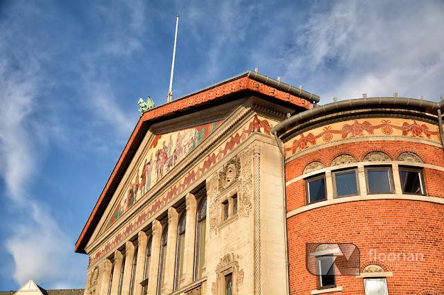 Fasada Teatru w Aarhus - top atrakcja turystyczna w duńskim Aarhus