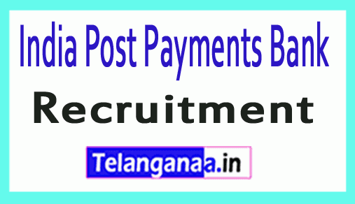 India Post Payments Bank IPPB Recruitment