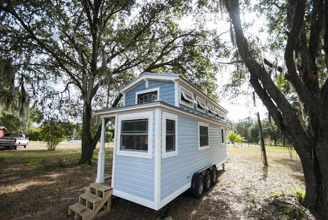 Luxury Davenport Tiny House 270 Sq Ft TINY HOUSE TOWN