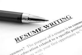write resume