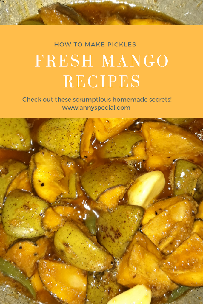 Fresh Mango Recipe-How To Make Pickle With Row Mango
