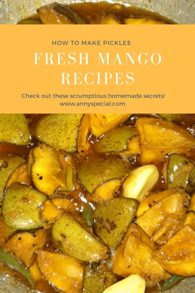 Fresh Mango Recipe-How To Make Pickle With Row Mango
